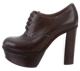 Marni Leather Ankle Booties