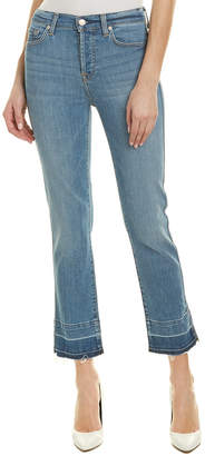 7 For All Mankind Seven 7 Edie East Village High-Rise Straight Crop