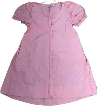 Cos Orange Cotton Dress for Women