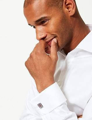 Marks and Spencer Union Jack Rectangular Cufflinks