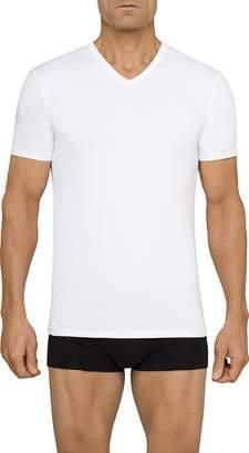 Calvin Klein Men's 2 Pack Cotton Stretch V-Neck T-Shirt