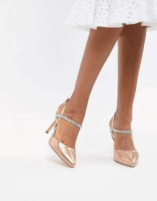 Coast Iris embellished heel