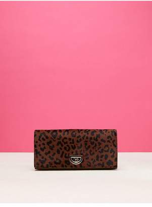 Diane von Furstenberg East West Haircalf Clutch