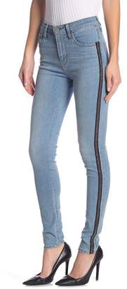 Levi's 721 Side Stripe High Rise Skinny Jeans