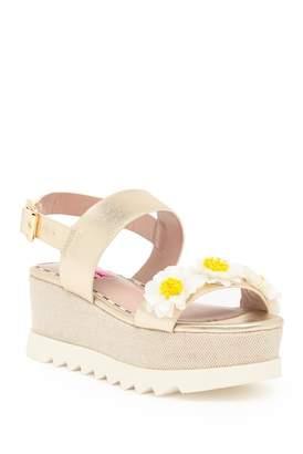 Betsey Johnson Pipper Floral Platform Sandal