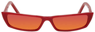 Acne Studios Red Agar Sunglasses