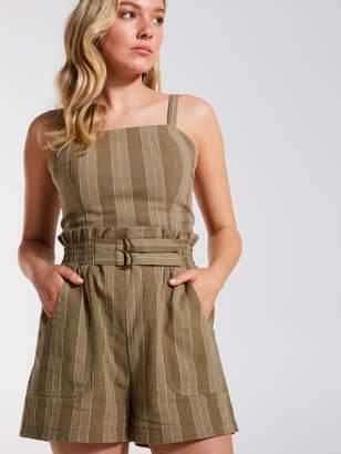 Dotti Double Belted Stripe Short