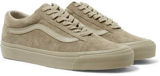 Vans OG Old Skool LX Leather-Trimmed Suede Sneakers - Men - Taupe