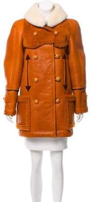 Chloé 2017 Shearling Coat
