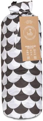 Lolli Living Kayden Cotton Black Scallop Round Play Mat