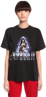 Misbhv Euphoria Printed Cotton Jersey T-Shirt