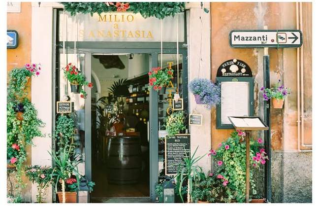 Italian Storefront by Justine Milton