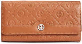 Giani Bernini Logo Embossed Receipt Wallet, Created for Macy's