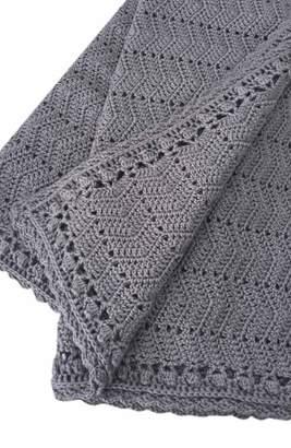 O.B. Designs Ripple Crocheted Blanket
