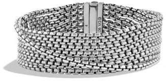 David Yurman Chain Eight-Row Bracelet, 18Mm