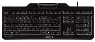 K&C Cherry Kc 1000 Sc Usb Qwerty Uk English Black Keyboard
