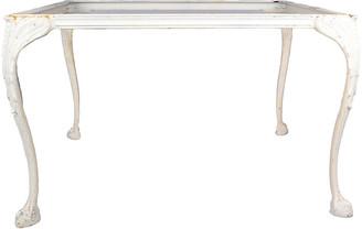 One Kings Lane Vintage Cast Aluminum Coffee Table Base - Galleria d'Epoca