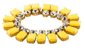 Vionnet Crystal & Resin Bracelet