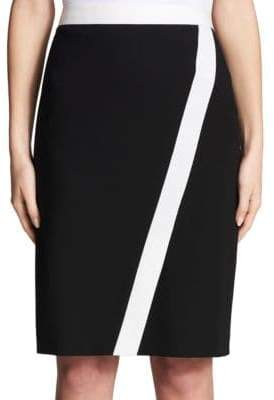 Calvin Klein Contrast Piped Skirt