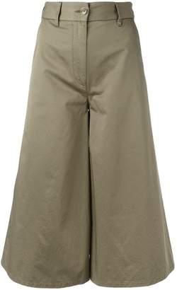MM6 MAISON MARGIELA cropped palazzo pants