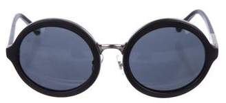3.1 Phillip Lim Tinted Round Sunglasses