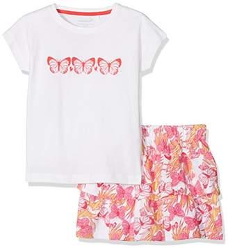 Name It Girl's Nmfvegas Capsl G Clothing Set