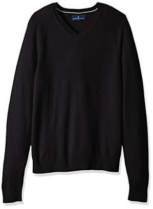 Buttoned Down Men's 100% Premium Cashmere V-Neck Sweater