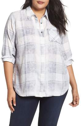 Vince Camuto Quaint Plaid Button Down Shirt