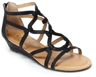 Esprit Carmen Gladiator Sandal $39 thestylecure.com