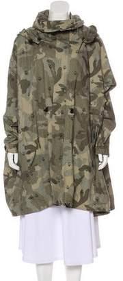 Julien David Camouflage Long Coat
