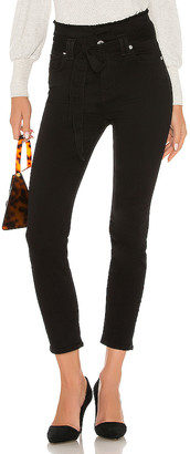 7 For All Mankind Paper Bag Roxanne Ankle Skinny.