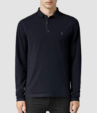 AllSaints Reform Long Sleeve Polo Shirt