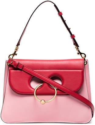 J.W.Anderson Pink Pierce Medium Leather Shoulder Bag