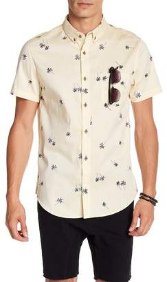 Sovereign Code Crystal Cove Short Sleeve Regular Fit Shirt