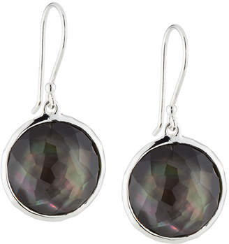 Ippolita Wonderland Lollipop Earrings in Black Shell Doublet