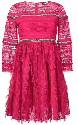 Just Cavalli lace mini dress