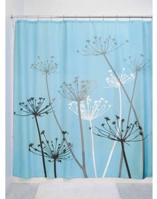 InterDesign Thistle Fabric Shower Curtain, Various Sizes & Colors