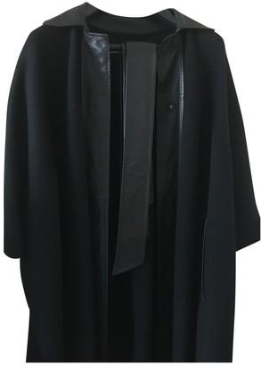 Jaeger Black Cashmere Coat for Women