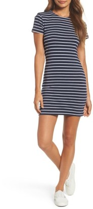Women's French Connection Stripe T-Shirt Dress $88 thestylecure.com