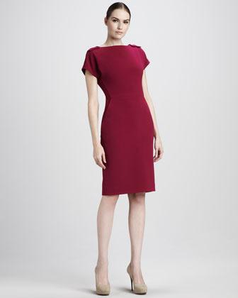 Rachel Roy Shoulder-Detail Dress