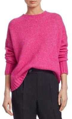 Helmut Lang Brushed Wool Crewneck Sweater