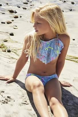 Pilyq Splatter Lasercut Bikini