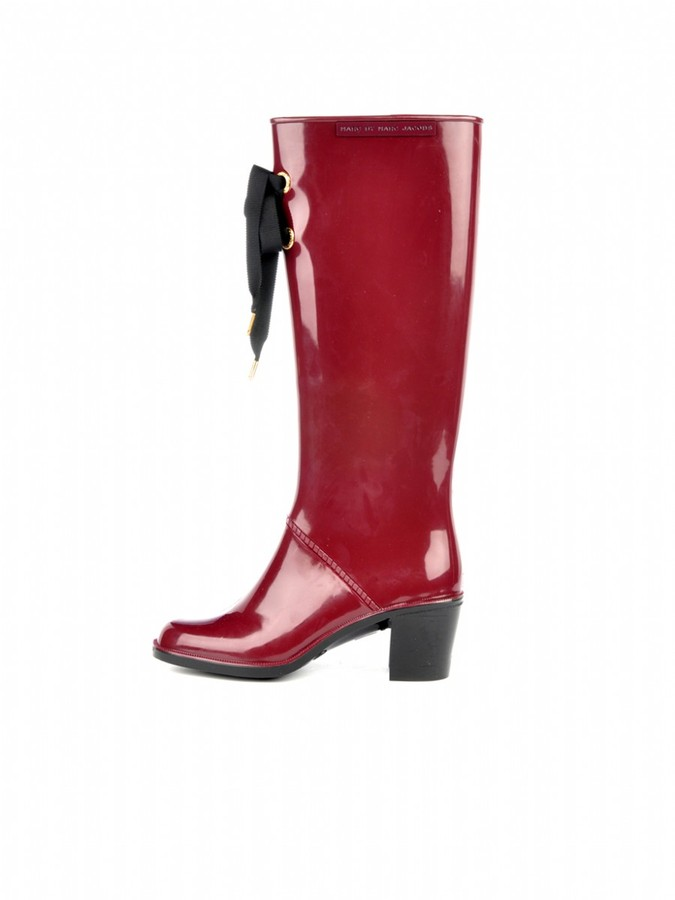 Marc by Marc Jacobs Laced Rain Boot