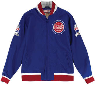 Mitchell & Ness Men's Detroit Pistons Team History Warm Up Jacket