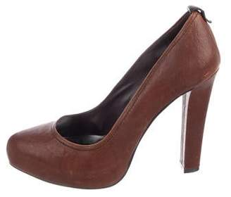 Dolce Vita Leather Round-Toe Pumps