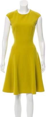 Michael Kors Virgin Wool Midi Dress