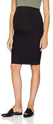 Mama Licious Mamalicious Women's Mlcatja Seamless Tube Skirt Noos Black, (Size: S/M)