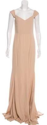 Reformation Crepe Evening Dress