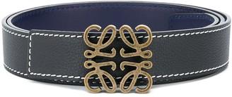 Loewe Anagram reversible belt
