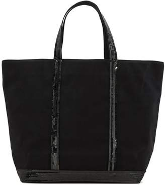 Vanessa Bruno Cotton and sequins medium+ tote